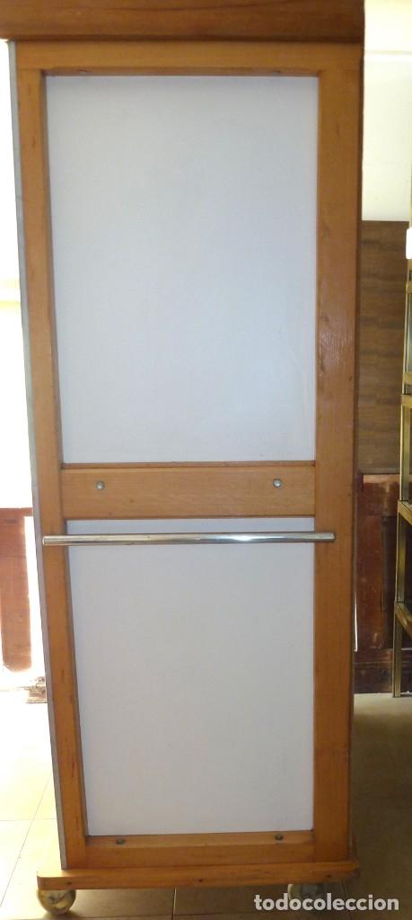 Vintage: Mueble industrial de panaderia con persiana. - Foto 9 - 178394986