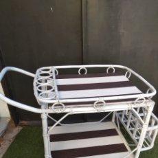 Vintage: CAMARERA DE BAMBU. Lote 106087671