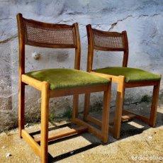 Vintage: PAREJA DE SILLAS VINTAGE. Lote 180138793