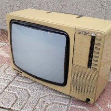Vintage: TELEVISOR ANTIGUO VINTAGE. TELEVISIÓN ANTIGUO SHARP ELBE. TELEVISOR ANTIGUO AÑOS 70 80. Lote 181198998