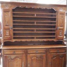 Vintage: APARADOR PLATERO ROBLE.. Lote 181494973