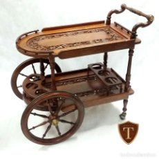 Vintage: CAMARERA CARRITO-BAR VINTAGE. Lote 183274316