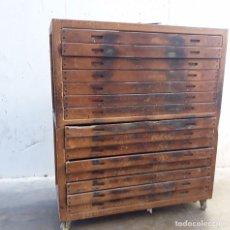 Vintage: MUEBLE DE OBRADOR DE PANADERIA. Lote 183589878