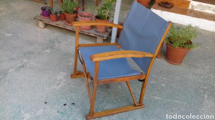 SILLON PLEGABLE VINTAGE (Vintage - Muebles)