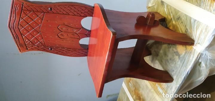 Vintage: Sillas de madera decorativaß - Foto 2 - 186117041