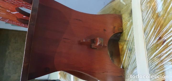 Vintage: Sillas de madera decorativaß - Foto 3 - 186117041