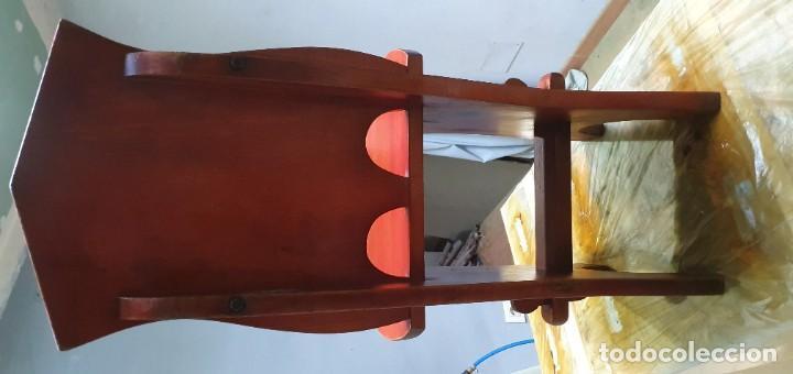 Vintage: Sillas de madera decorativaß - Foto 4 - 186117041