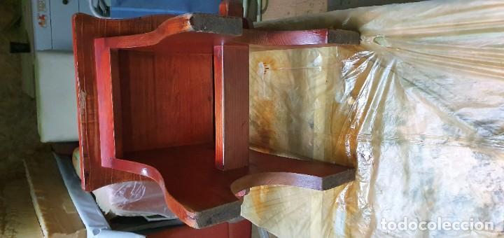 Vintage: Sillas de madera decorativaß - Foto 5 - 186117041