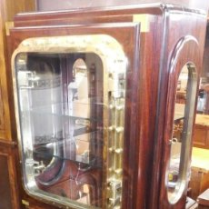Vintage: MUEBLE BAR DE BARCO MADERA DE TEKA.. Lote 187308866
