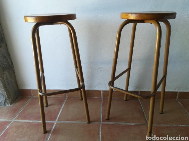 Vintage: Lote de 2 taburetes de laboratorio vintage - Foto 2 - 188797207