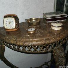 Vintage: MESA DE ENTRADA DE BRONCE. Lote 189312531