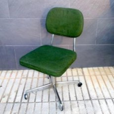 Vintage: SILLA DE OFICINA REGULABLE.. Lote 190856651