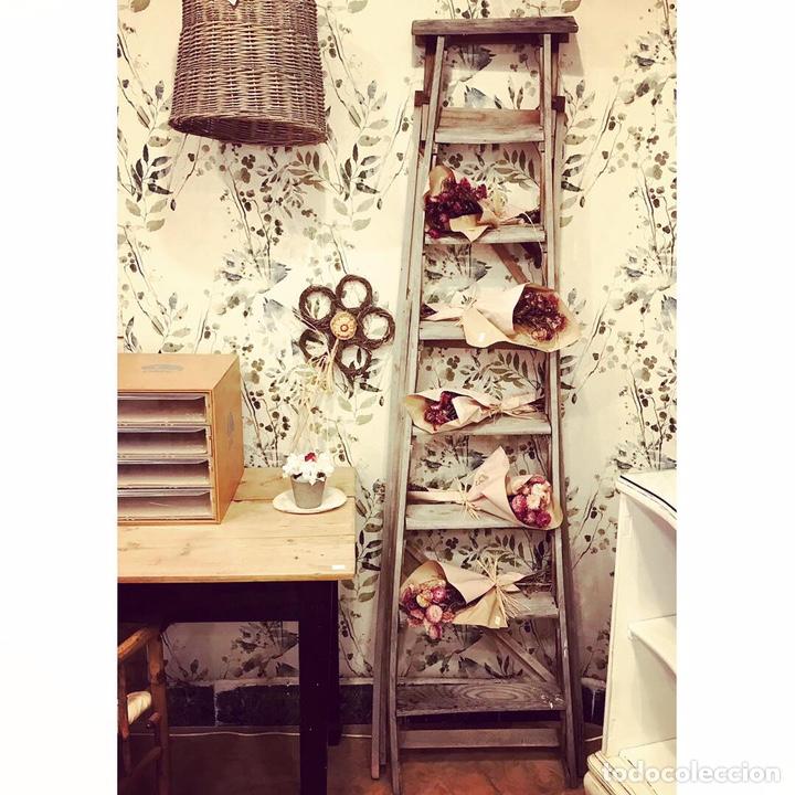 ESCALERA ANTIGUA (Vintage - Muebles)