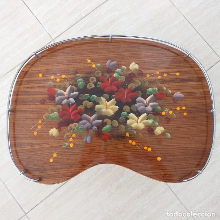 Vintage: Mesita vintage plegable de cama. Años 60-70. - Foto 2 - 192880357