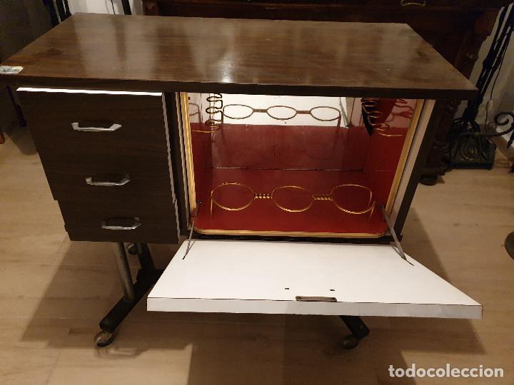 Vintage: MUEBLE BAR CON CAJONES - Foto 3 - 193241503