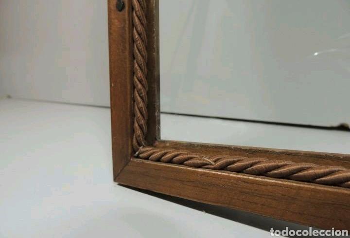 Vintage: Vitrina de colgar en madera de Haya con baldas de cristal - Foto 11 - 193848932
