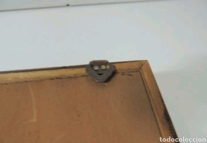 Vintage: Vitrina de colgar en madera de Haya con baldas de cristal - Foto 16 - 193848932