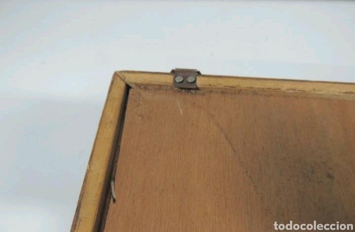 Vintage: Vitrina de colgar en madera de Haya con baldas de cristal - Foto 17 - 193848932