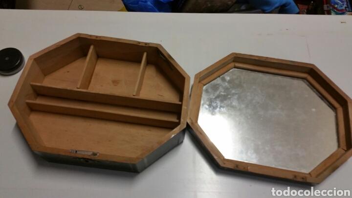 Vintage: Antigua caja baul joyero madera chino japon - Foto 2 - 194246950