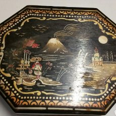 Vintage: ANTIGUA CAJA BAUL JOYERO MADERA CHINO JAPON. Lote 194246950