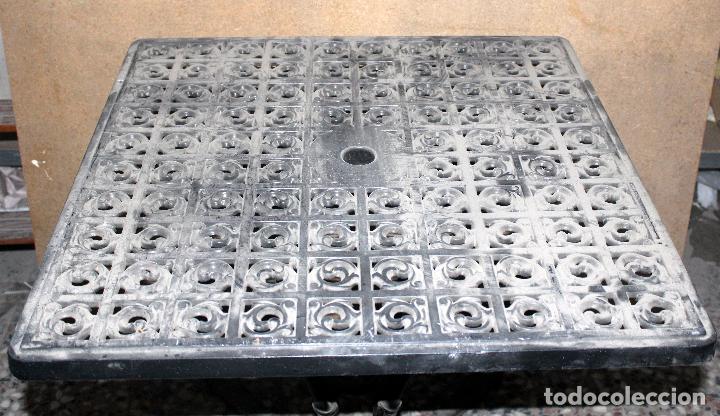 Vintage: Mesa terraza o jardin fundición de aluminio - Foto 4 - 194271090