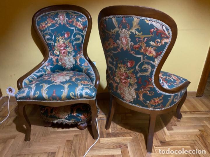 PAREJA BUTACAS (Vintage - Muebles)