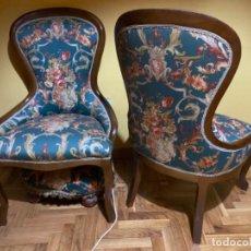 Vintage: PAREJA BUTACAS. Lote 194506040
