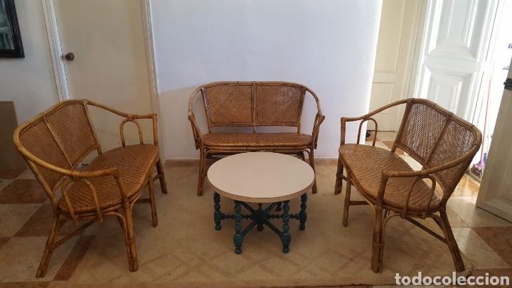 SILLONES DE MIMBRE (Vintage - Muebles)