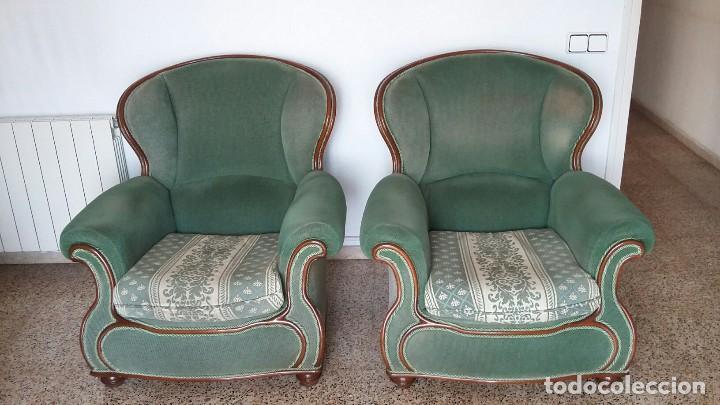 2 SILLONES ESTILO CLÁSICO (Vintage - Muebles)