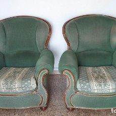 Vintage: 2 SILLONES ESTILO CLÁSICO. Lote 194886743