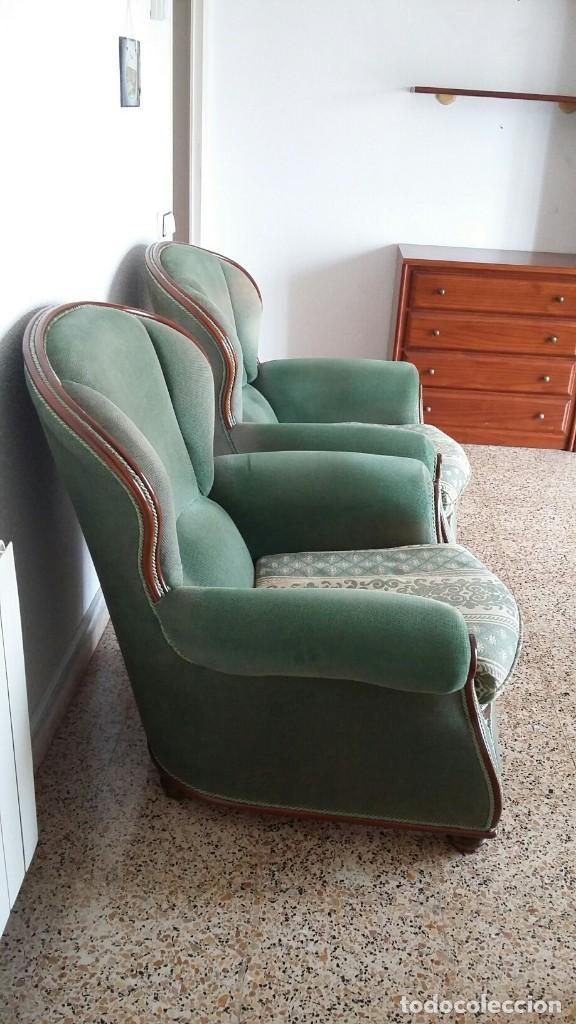 Vintage: 2 SILLONES ESTILO CLÁSICO - Foto 4 - 194886743