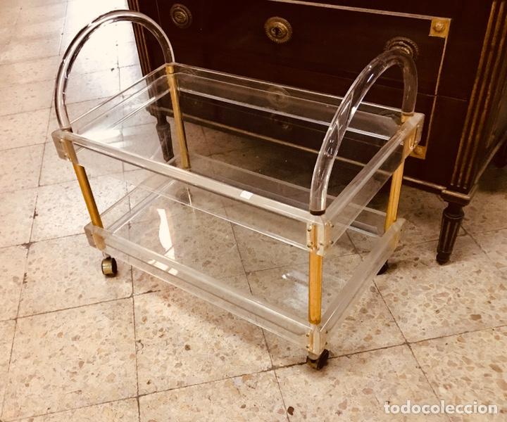 Vintage: Carro de metraquilato y cristal. - Foto 3 - 195275917