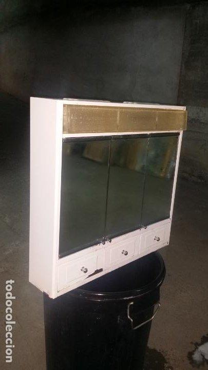 Vintage: romi con luz y espejos 3 puertas - Foto 7 - 195334163