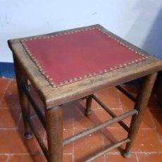 Vintage: TABURETE DE SASTRE. Lote 196245796
