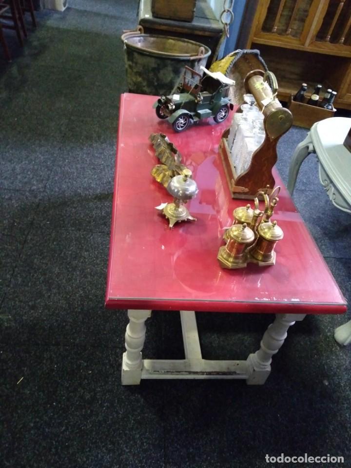 Vintage: Mesa de centro vintage recuperada - Foto 2 - 197948866