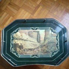 Vintage: BANDEJA DE CAMA SETENTERA. Lote 198841325