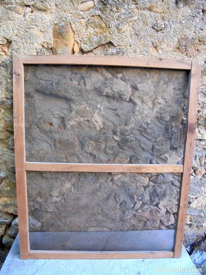 Vintage: ANTIGUA MOSQUITERA PARA VENTANA O BALCÓN - GRAN TAMAÑO - Foto 2 - 199643761