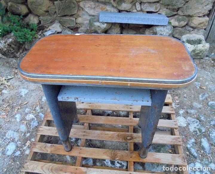 MESA AUXILIAR CON CAJONERA DE OFICINA DESPACHO - ESTILO INDUSTRIAL - SISTEMAS AF (Vintage - Muebles)