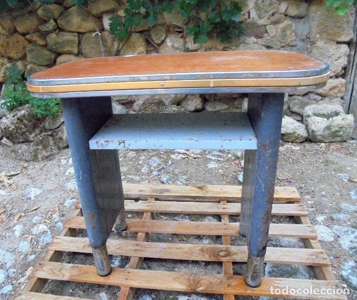 Vintage: MESA AUXILIAR CON CAJONERA DE OFICINA DESPACHO - ESTILO INDUSTRIAL - SISTEMAS AF - Foto 2 - 199845358