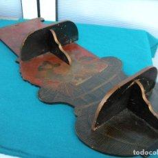 Vintage: CUADRO ESTANTE ORIENTAL. Lote 205612093