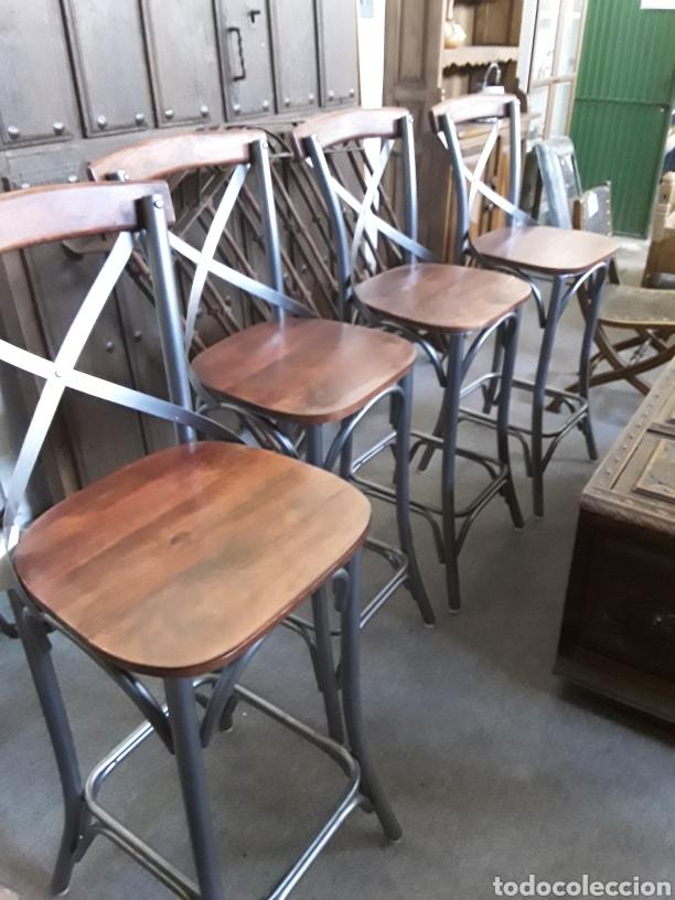 Vintage: Taburete de bar o cocina - Foto 2 - 206374887