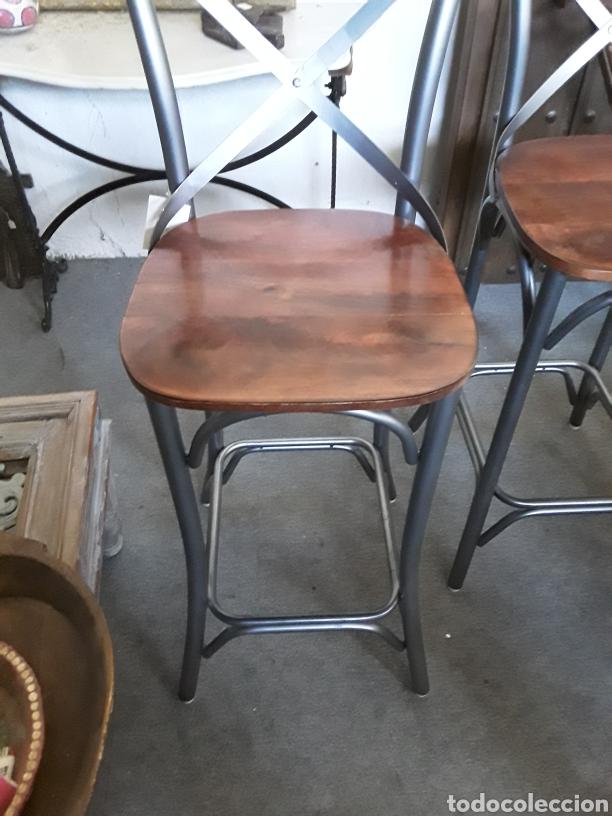 Vintage: Taburete de bar o cocina - Foto 3 - 206374887