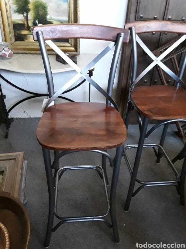 TABURETE DE BAR O COCINA (Vintage - Muebles)