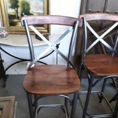 Vintage: TABURETE DE BAR O COCINA. Lote 206374887