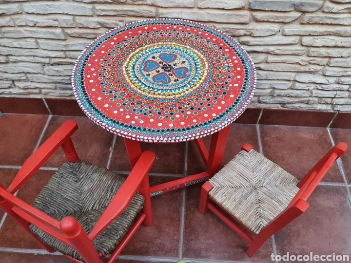Vintage: Conjunto infantil de sillas y mesa - Foto 4 - 208312082