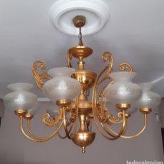 Vintage: GRAN LAMPARA DE TECHO AÑOS 70 .. Lote 209137095