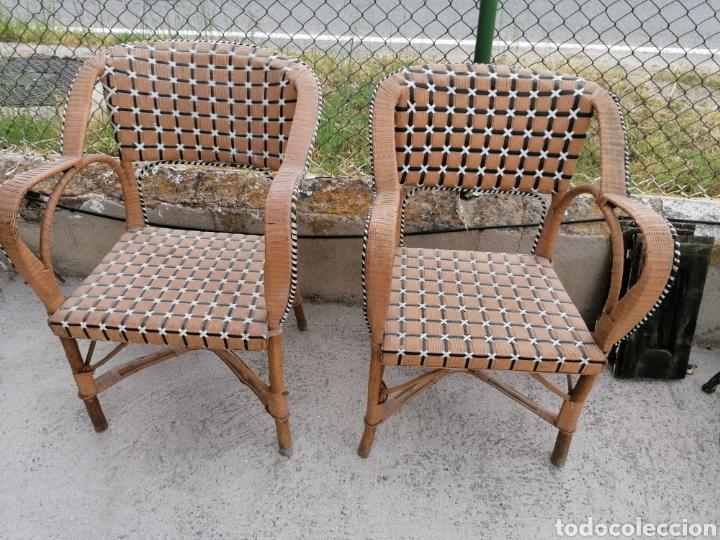 PAREJA DE SILLONES DE LOS AÑOS 40 (Vintage - Muebles)