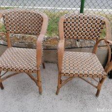Vintage: PAREJA DE SILLONES DE LOS AÑOS 40. Lote 209414515