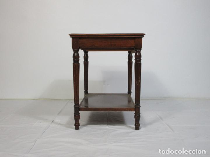 Vintage: Bonita Mesa de Centro - Madera de Haya - con Cajón - Vintage - Largo - 60 cm, Ancho - 40 cm - Foto 3 - 210014570