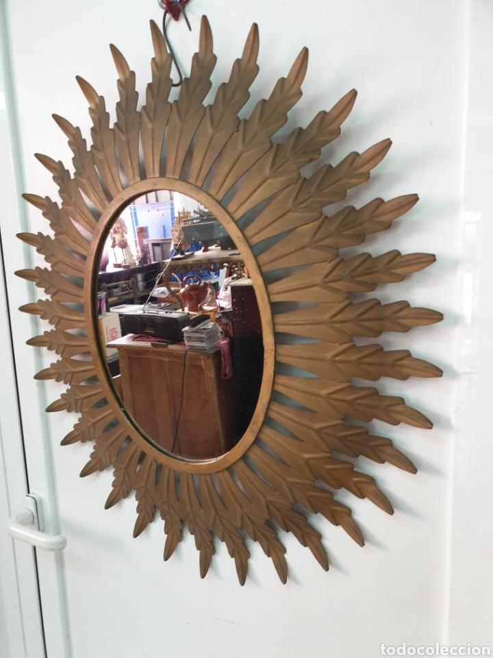 Vintage: Espejo de hierro 70x61 - Foto 2 - 210646424